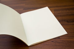 Blank catalog, magazines,book mock up Stock Images