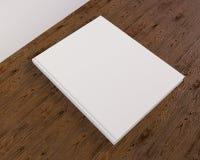 Blank catalog, magazines,book mock up on wood background 3d illustration. Textbook,  texture,  tissue,  up,  velvet,  wave,  white,  wood Stock Images