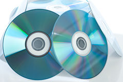 Blank cd Stock Photo
