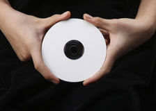Blank cd Royalty Free Stock Image