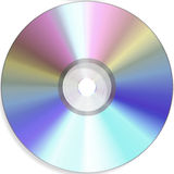 Blank cd Royalty Free Stock Photography