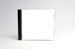 Blank cd case isolated Royalty Free Stock Photography