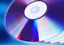 Blank CD / DVD Royalty Free Stock Image