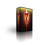 Blank CD DVD box template Stock Photography