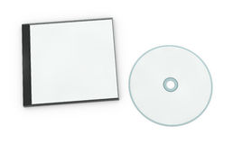 Blank cd or dvd jewel case Stock Photo