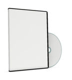Blank cd or dvd jewel case Stock Image