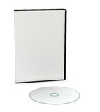Blank cd or dvd jewel case Royalty Free Stock Images