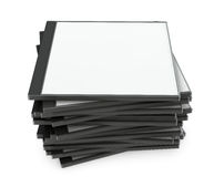 Blank Cd Or Dvd Case Stock Photo