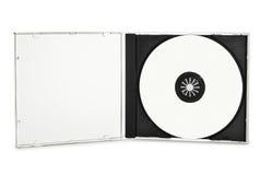 blank cd-skiva Royaltyfria Foton