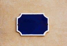 Blank Ceramic Number Plate Stock Photos