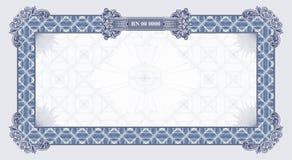 blank certifikatvektor Arkivbilder