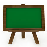 Blank Chalk Board Stock Photo