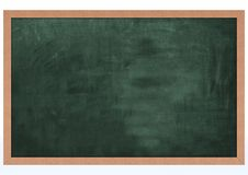 Blank Chalk Board Royalty Free Stock Image