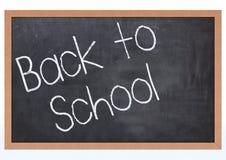 Blank Chalk Board Stock Image