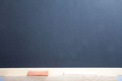 Blank chalkboard. Stock Photos