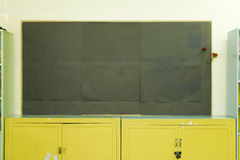 Blank chalkboard Stock Images