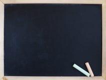 Blank chalkboard Stock Image