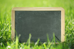 Blank chalkboard Stock Photo