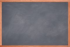 Blank Chalkboard. Empty chalkboard Royalty Free Stock Photography
