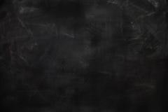 Blank chalkboard, blackboard texture Stock Photos