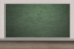 Blank chalkboard for copyspace in class Stock Photo