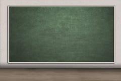 Blank chalkboard for copyspace in class Stock Photo