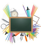 Blank chalkboard Stock Photography