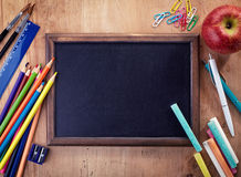 Blank chalkboard Royalty Free Stock Images