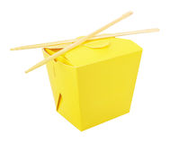 Blank Chinese food container Stock Image