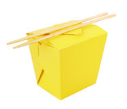 Blank Chinese food container Stock Photography