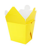 Blank Chinese food container Stock Photo