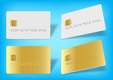 Blank chip card Royalty Free Stock Photography