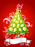 Blank Christmas Greeting Composition Royalty Free Stock Image