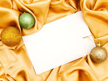 Blank Christmas invitation Stock Photography