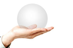 Blank Circle for add your idea Royalty Free Stock Image