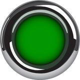 Blank circle button or element Stock Photography