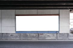 Blank City Billboard Royalty Free Stock Images