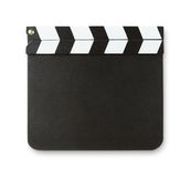 Blank clapboard with copy space Royalty Free Stock Photo
