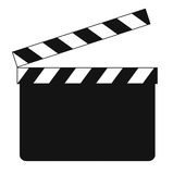 Blank clapboard (illustration) Royalty Free Stock Images