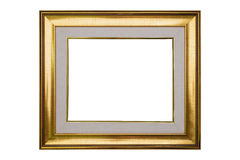 Blank classic photo frame Stock Photography