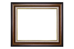 Blank classic photo frame Stock Photos