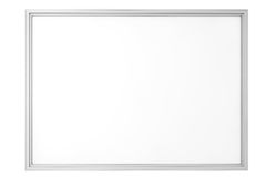 Blank Classroom Whiteboard Royalty Free Stock Photo