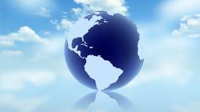 Blue Globe Concept Royalty Free Stock Photo