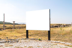 Blank Clear Billboard Stock Images