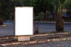 Blank Clear Billboard Royalty Free Stock Photo