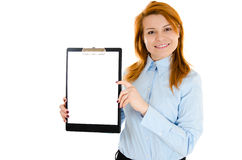 Blank clip board Royalty Free Stock Photos