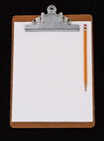 Blank Clipboard Stock Photos