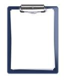 blank clipboard Royaltyfria Foton