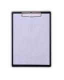 Blank clipboard Stock Photography