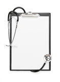 Blank clipboard with clipping path Royalty Free Stock Photo